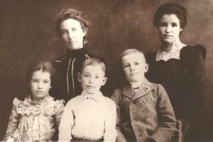 Five Robertson Children